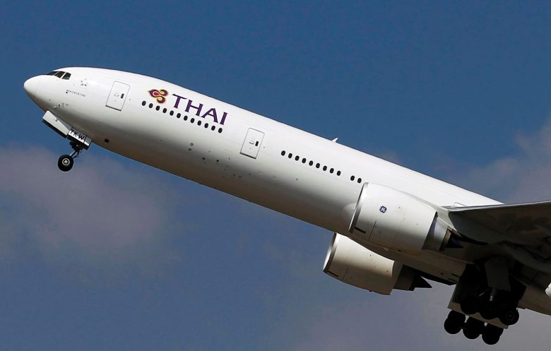 A Thai Airways Boeing 777-300ER plane takes off from Bangkok's Suvarnabhumi Airport February 23, 2015. REUTERS/Chaiwat Subprasom/File Photo              GLOBAL BUSINESS WEEK AHEAD PACKAGE - SEARCH 'BUSINESS WEEK AHEAD NOV 7'  FOR ALL IMAGES - RTX2S8EC