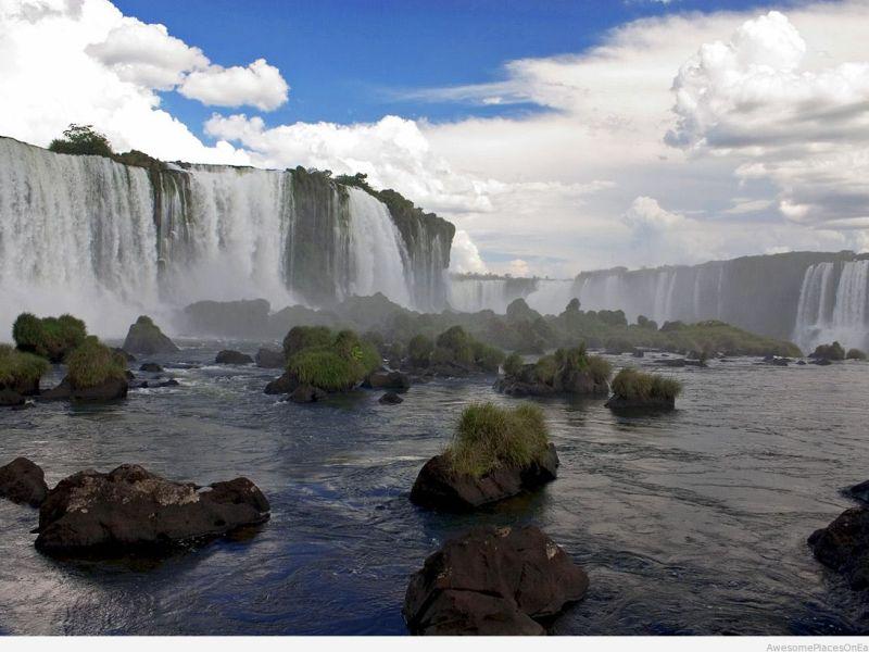 Inga Falls on the Congo River. Photo: Pinterest