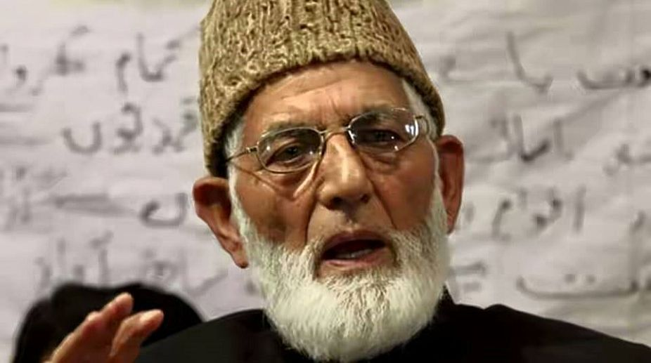 Former Hurriyat Conference chairman Syed Ali Shah Geelani. Photo Supplied
