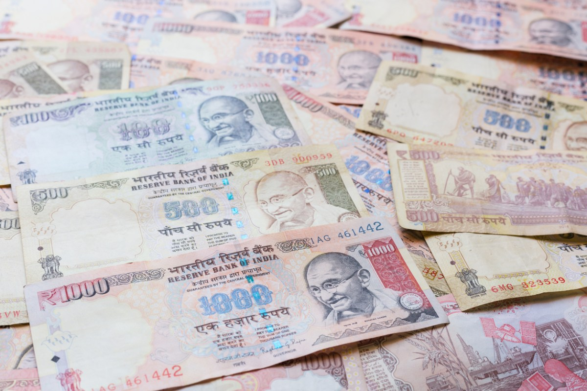 A new one-rupee bill will soon be joining India's existing range of notes. Photo: iStock