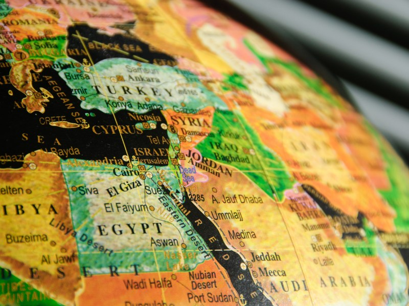 The Middle East. Map: iStock