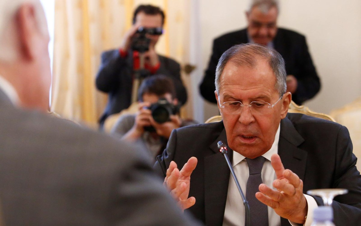Russian Foreign Minister Sergei Lavrov. Photo: Reuters