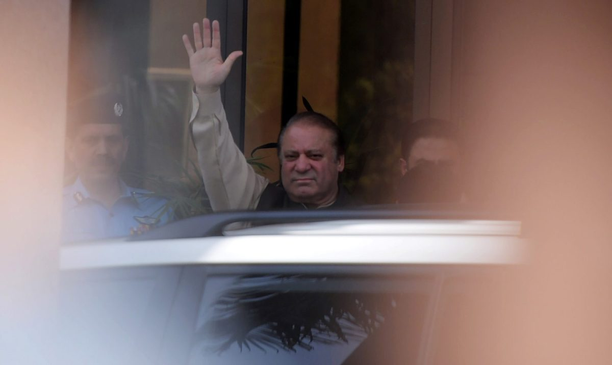 Pakistan's disqualified Prime Minister Nawaz Sharif. Photo: AFP / Aamir Qureshi
