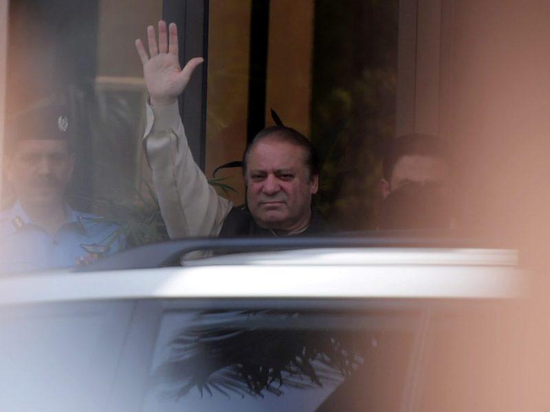 Pakistan's disqualified Prime Minister Nawaz Sharif. Photo: AFP / Aamir Qureshi