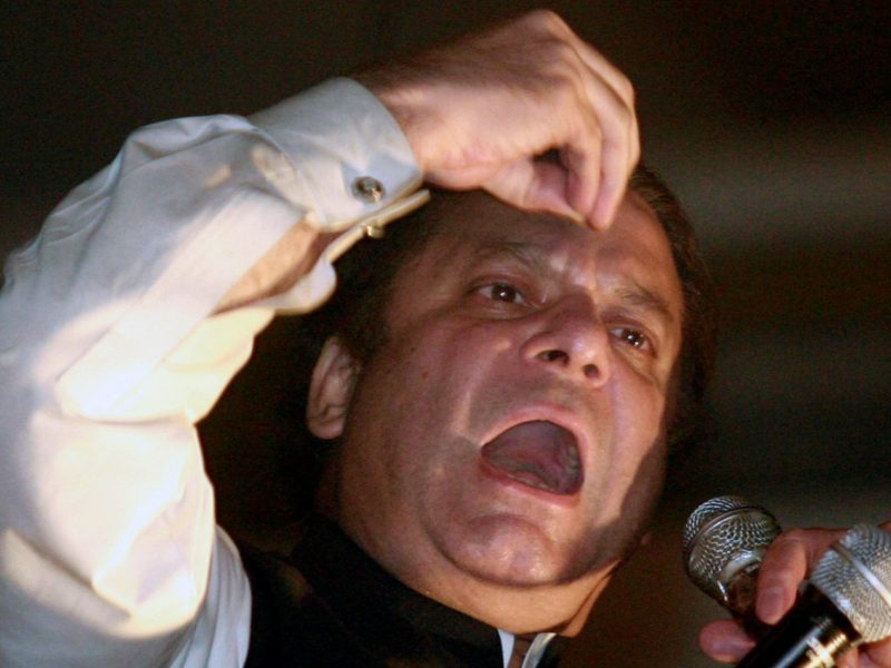 Nawaz Sharif's remarks on the Mumbai attacks have seen him accused of being 'anti-Pakistan'. Photo: Reuters / Mian Khursheed