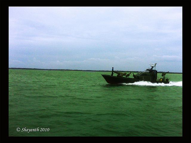 A Sri Lankan navy vessel on patrol. Representational image. Photo: Flick Commons