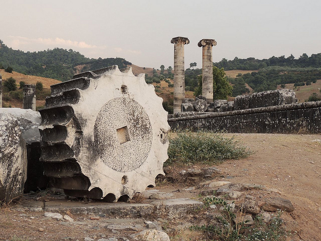 Ancient marble columns in Turkey. Photo: Flickr Commons
