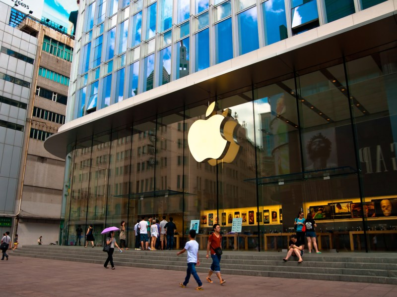 The head of Apple India has stood down after the group's recorded its slowest growth for six years.