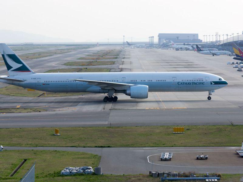 Hong Kong International Airport. Photo:                         Wikimedia Commons