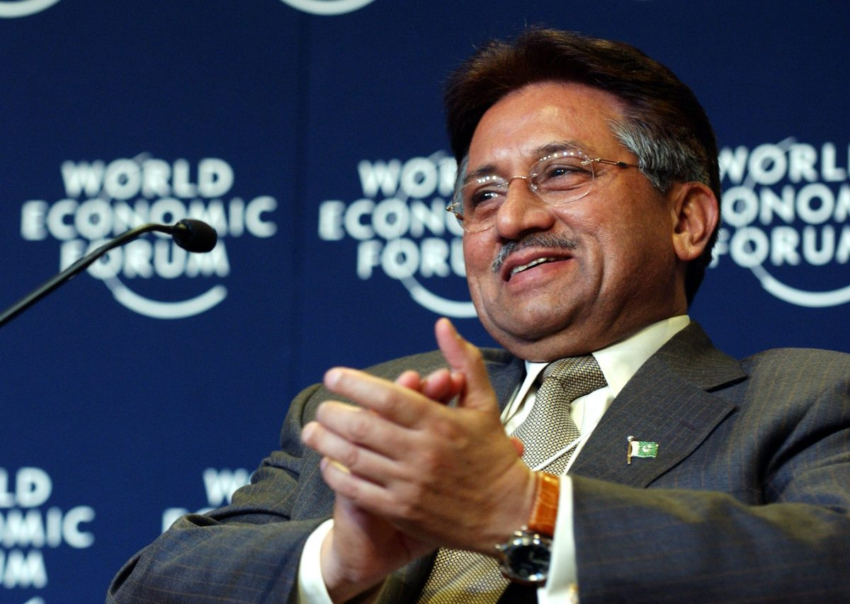Former Pakistan President Pervez Musharraf. Photo: Wikipedia