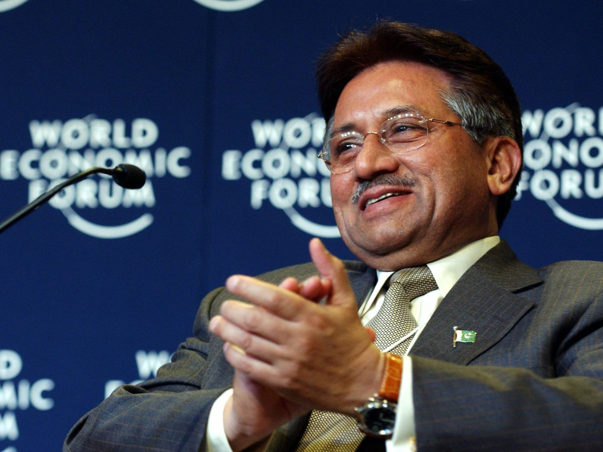 Former Pakistan President Pervez Musharraf. Photo: Wikipedia