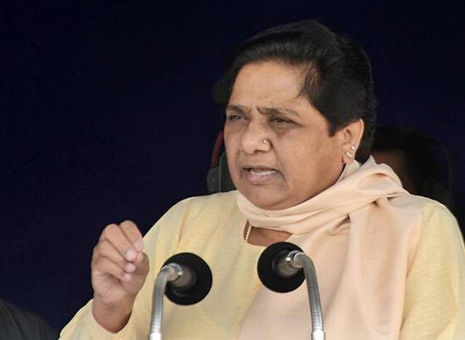 BSP chief Mayawati quit Parliament in protest on Tuesday. Photo: The Hindu