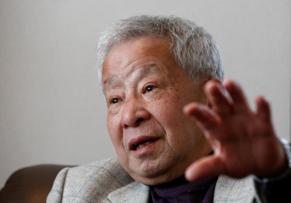 Japan's former currency czar Eisuke Sakakibara speaks at an interview with Reuters in Tokyo, Japan February 6, 2017. REUTERS/Kim Kyung-Hoon