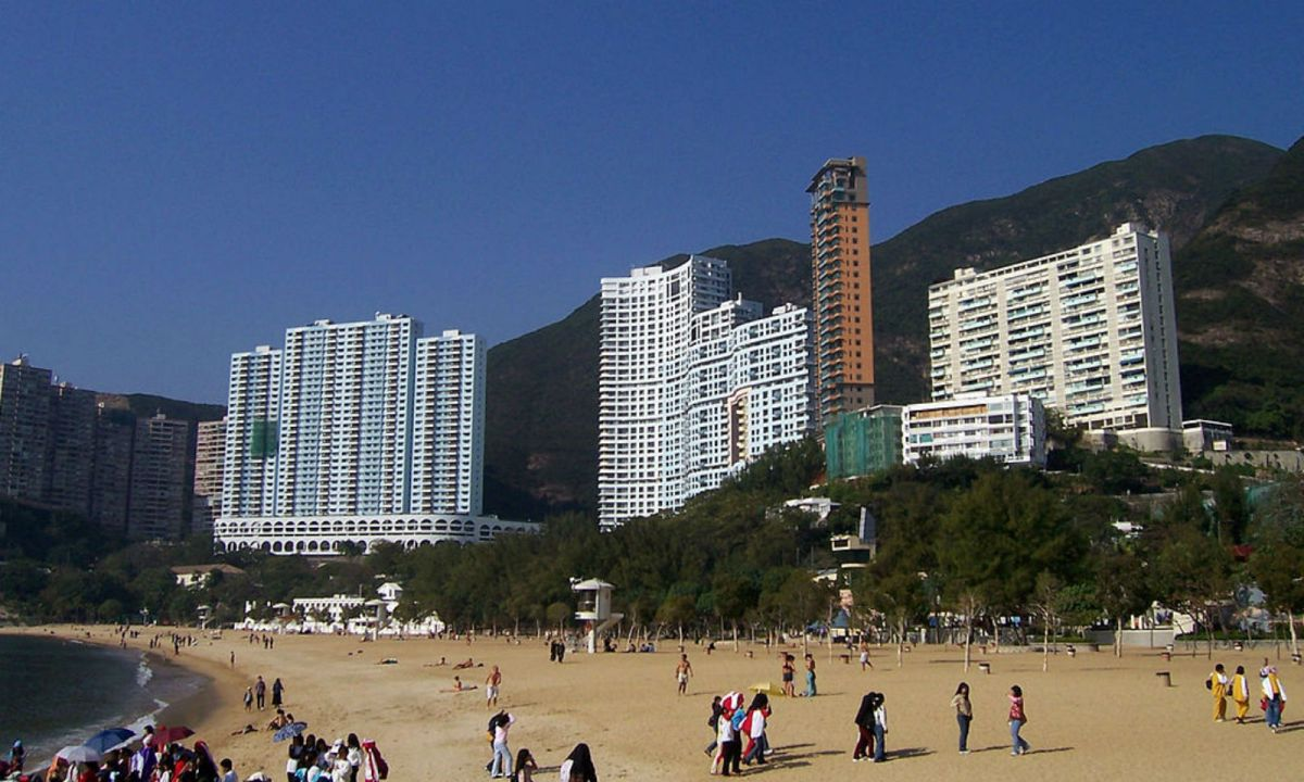 Repulse Bay on the Southern side of Hong Kong Island. Photo: Wikimedia Commons