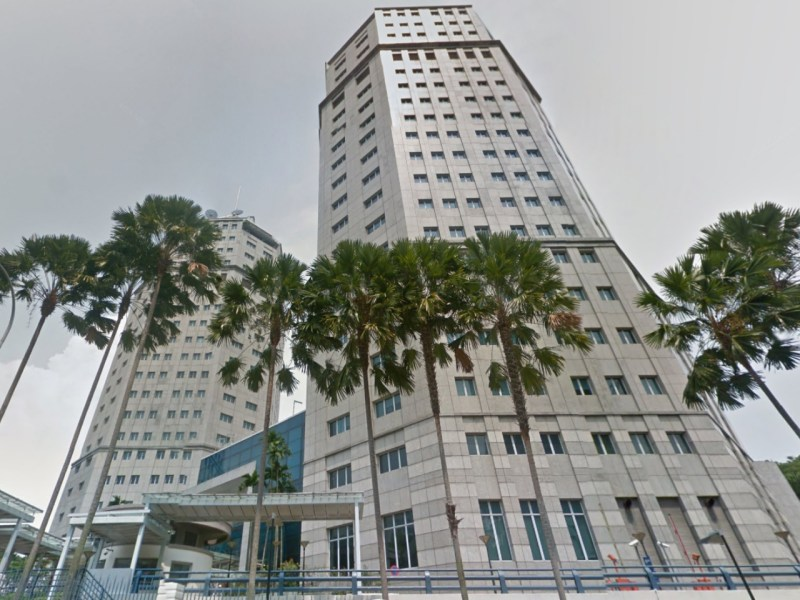 New Phoenix Park, Ministry of Home Affairs, Singapore. Photo: Google Maps