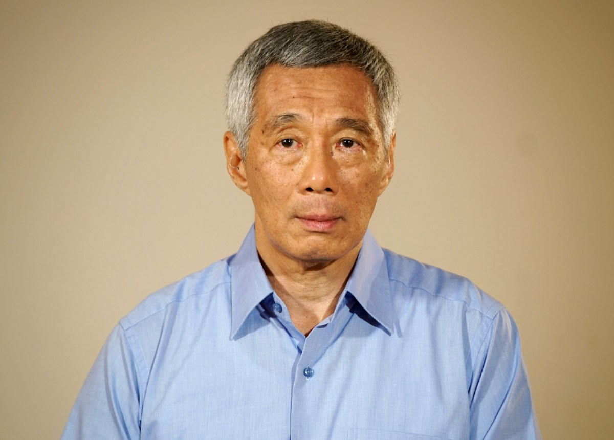 Under fire: Singapore Prime Minister Lee Hsien Loong has failed to arrest rising accusations against his rule. Photo: AFP via Ministry of Communications and Information.