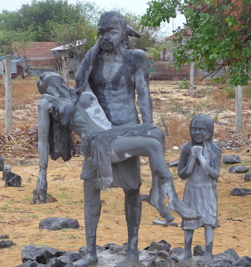 A monument to Sri Lanka's civil war victims. Photo: Duncan McCargo