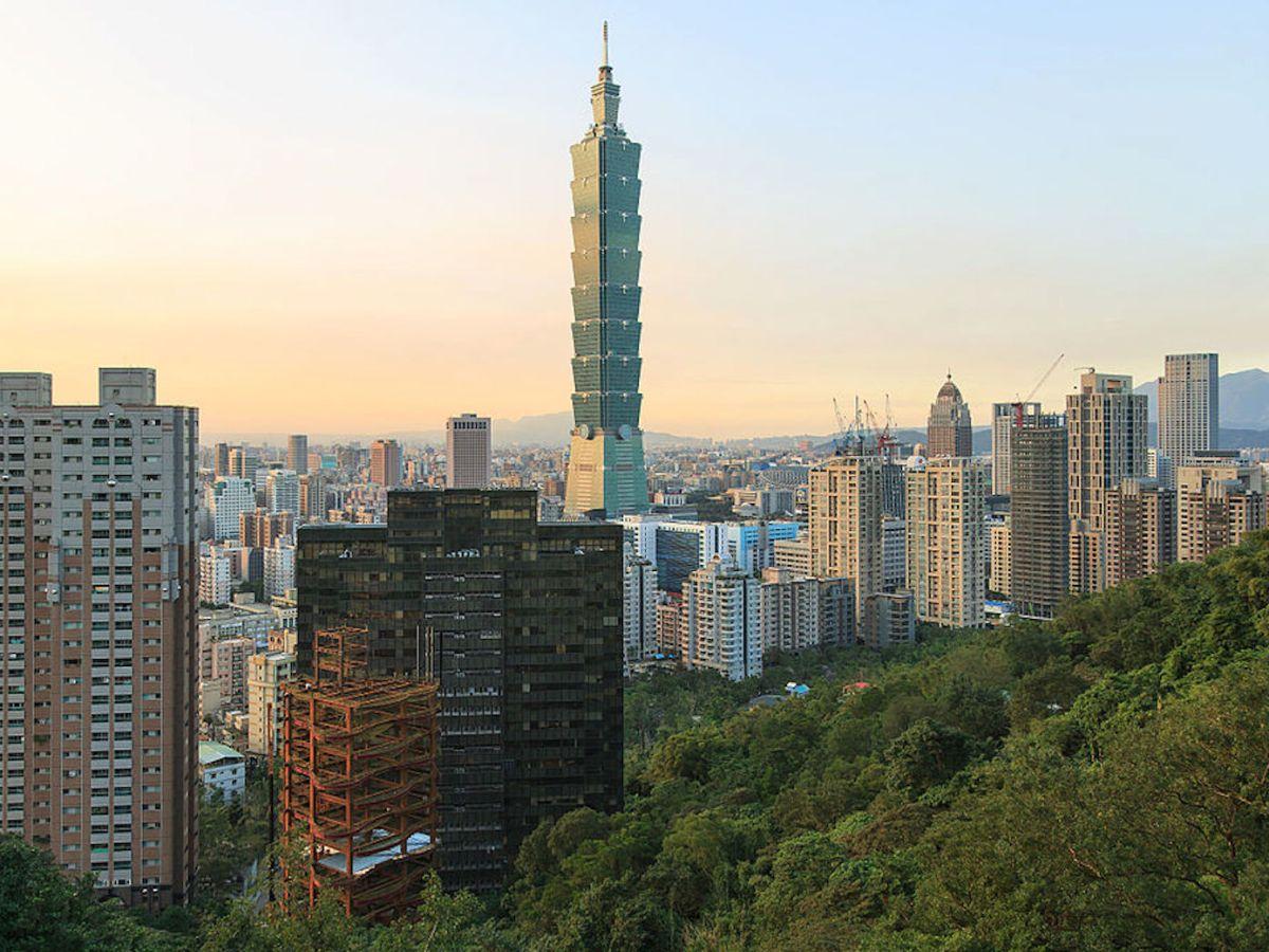 Taipei 101 Tower, Taiwan's highest skyscraper. Photo: Uwe Aranas/Wikipedia Commons.