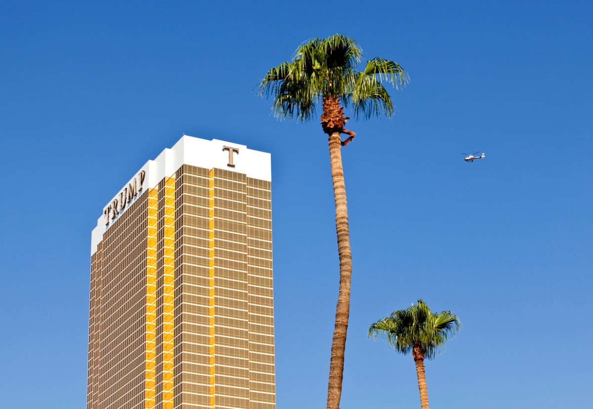 Stock image of a Trump luxury resort. Photo: iStock/Getty Images