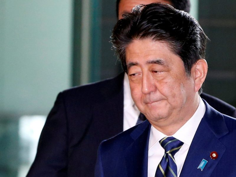 Prime Minister Shinzo Abe has been bypassed by recent developments on the Korean peninsula, but appears eager to play a role in talks with North Korea in coming weeks. Photo: Reuters/ Kim Kyung-Hoon