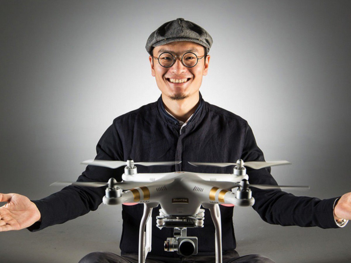 Frank Wang, the founder and CEO of DJI Technology. Photo: Wikimedia Commons