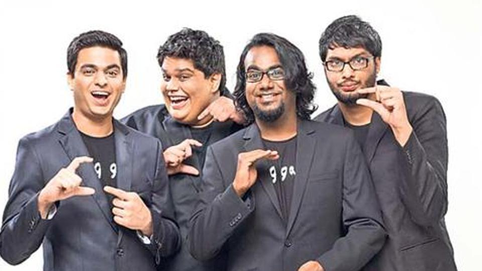 All India Bakchod members face legal action over humorous tweet. Photo: Hindustan Times