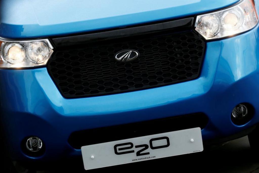 Mahindra Electric's e2O car _ Reuters
