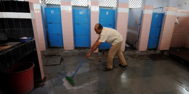 Public toilets in New Delhi will be easier to locate with the launch of a new app. Photo: Huffington Post