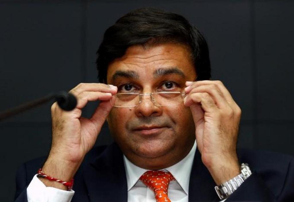 Reserve Bank of India Governor Urjit Patel. Photo: Reuters