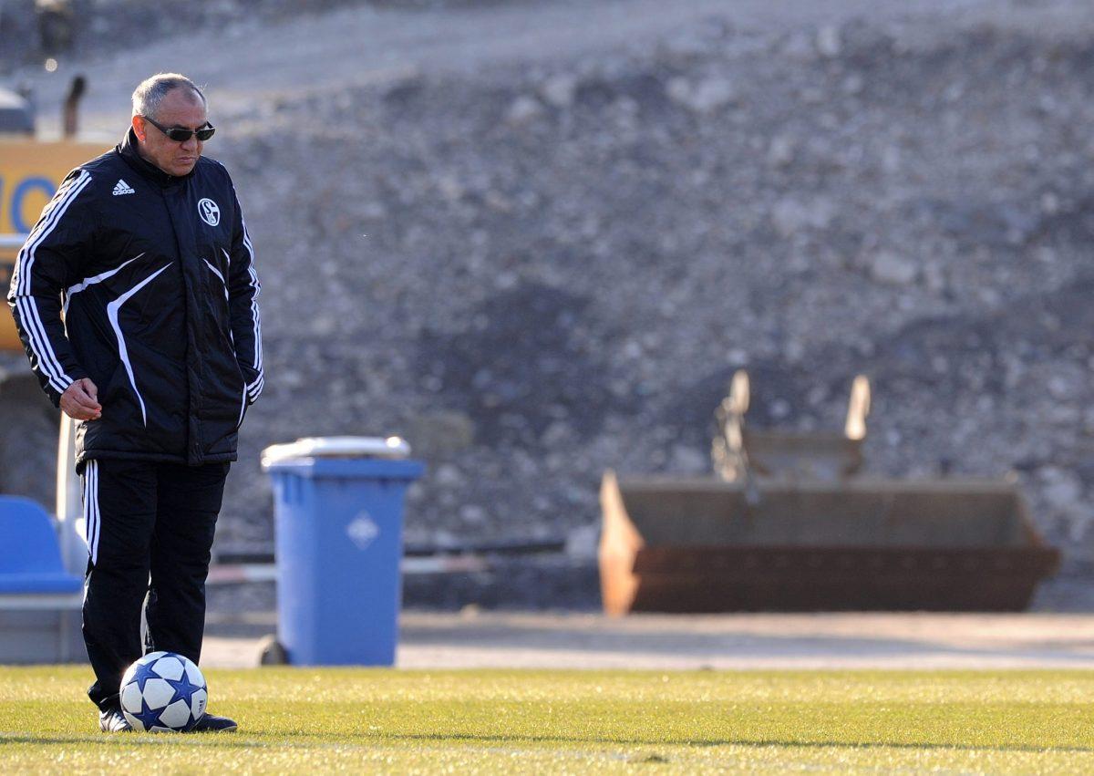 Shandong Luneng coach Felix Magath. Photo: AFP / Patrik Stollarz