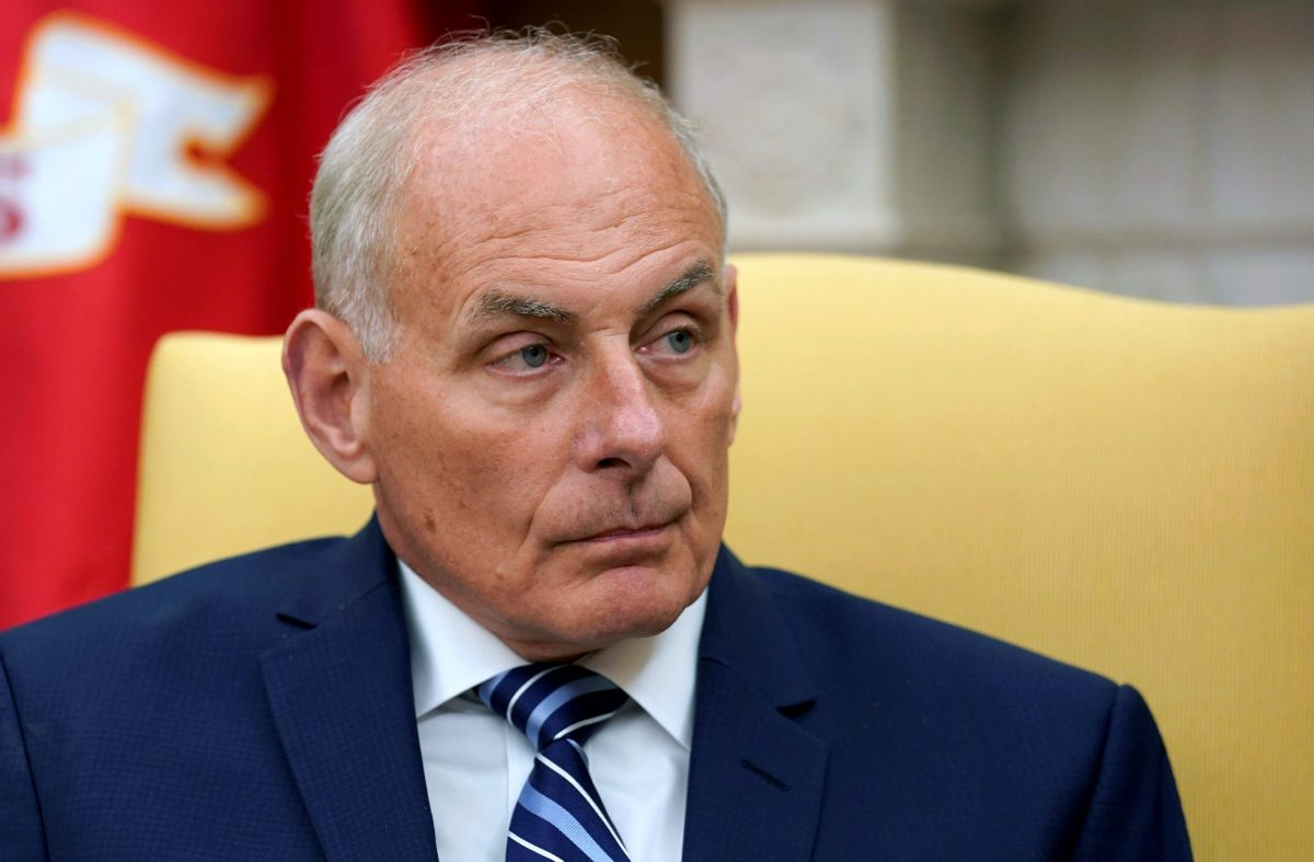 Seniror officials are hoping Trump's new chief of staff John Kelly can help bridge the growing divide between the White House and Republican Congressional leaders.   Photo: Reuters/Joshua Roberts