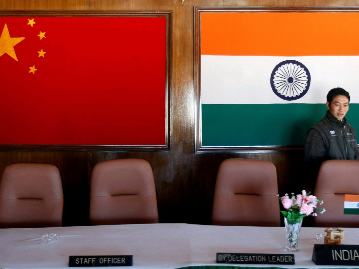A file photo of a conference room used for meetings between Indian and Chinese military commanders  in the northeastern Indian state of Arunachal Pradesh. REUTERS/Adnan Abidi
