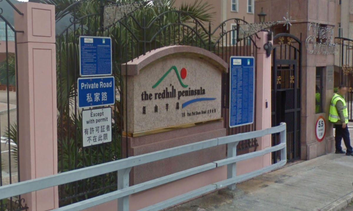 Redhill Peninsula in Tai Tam on Hong Kong Island. Photo: Google Maps