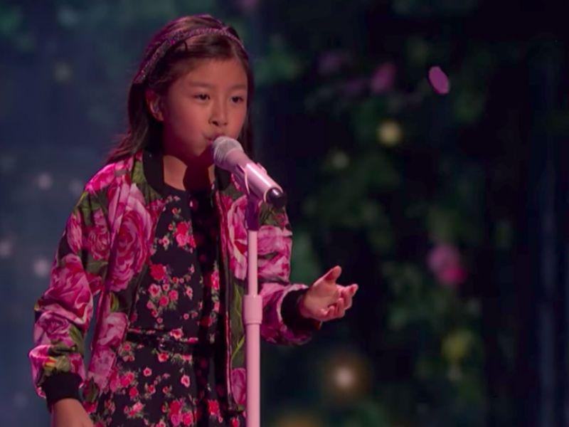 Celine Tam. Photo: America's Got Talent