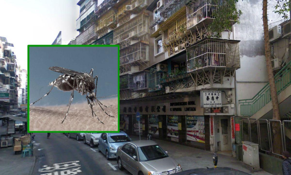 Rua da Praia do Manduco, Macau. Photos: Google Maps, Wikimedia Commons