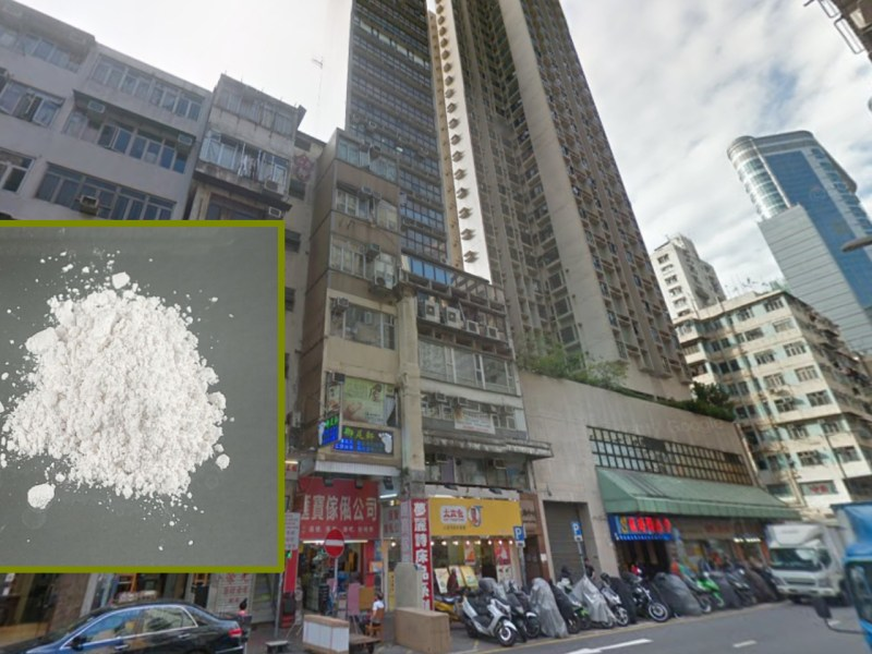 Dozens of people were arrested when a drug den in Mong Kok was raided by police on Tuesday afternoon. Photo: Google Maps, Wikimedia Common