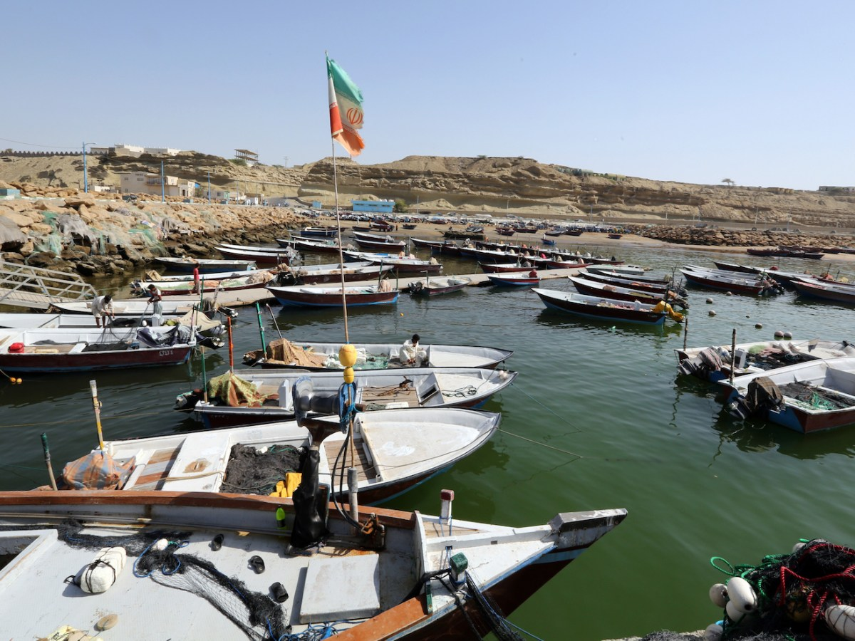 A scenic part of Iran's strategic Chabahar Port, which will serve a growing volume of Afghan traffic. Photo: AFP
