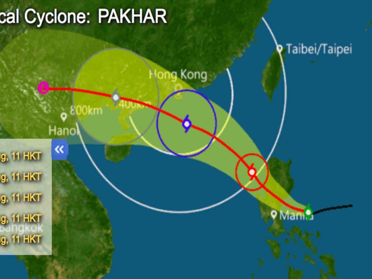 Hong Kong's weather bureau has said a new storm may be headed toward the city. Photo: Hong Kong Observatory