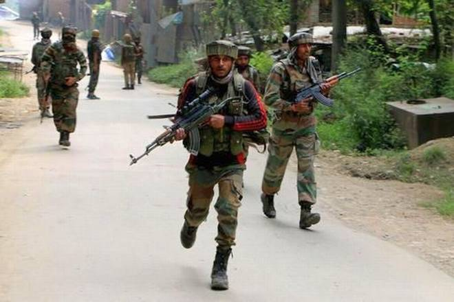 Indian troops in Pulwama district in Kashmir. Representational file image: The Hindu