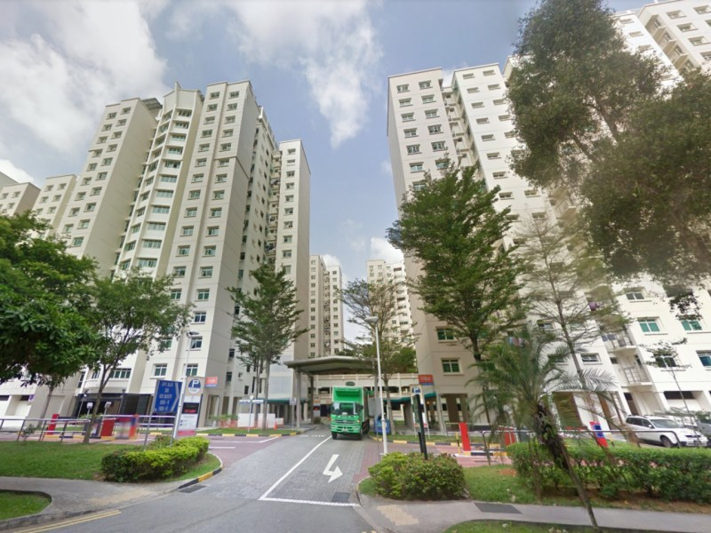 A Housing Development Board estate in Punggol Field, Singapore. Photo: Google Maps
