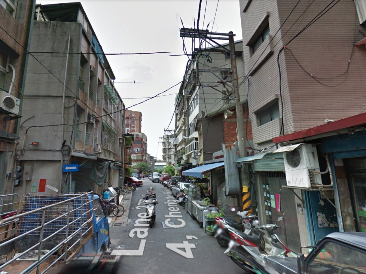 Lane 277 in Section 4, Chengde Road in Shilin district, Taipei. Photo: Google Maps