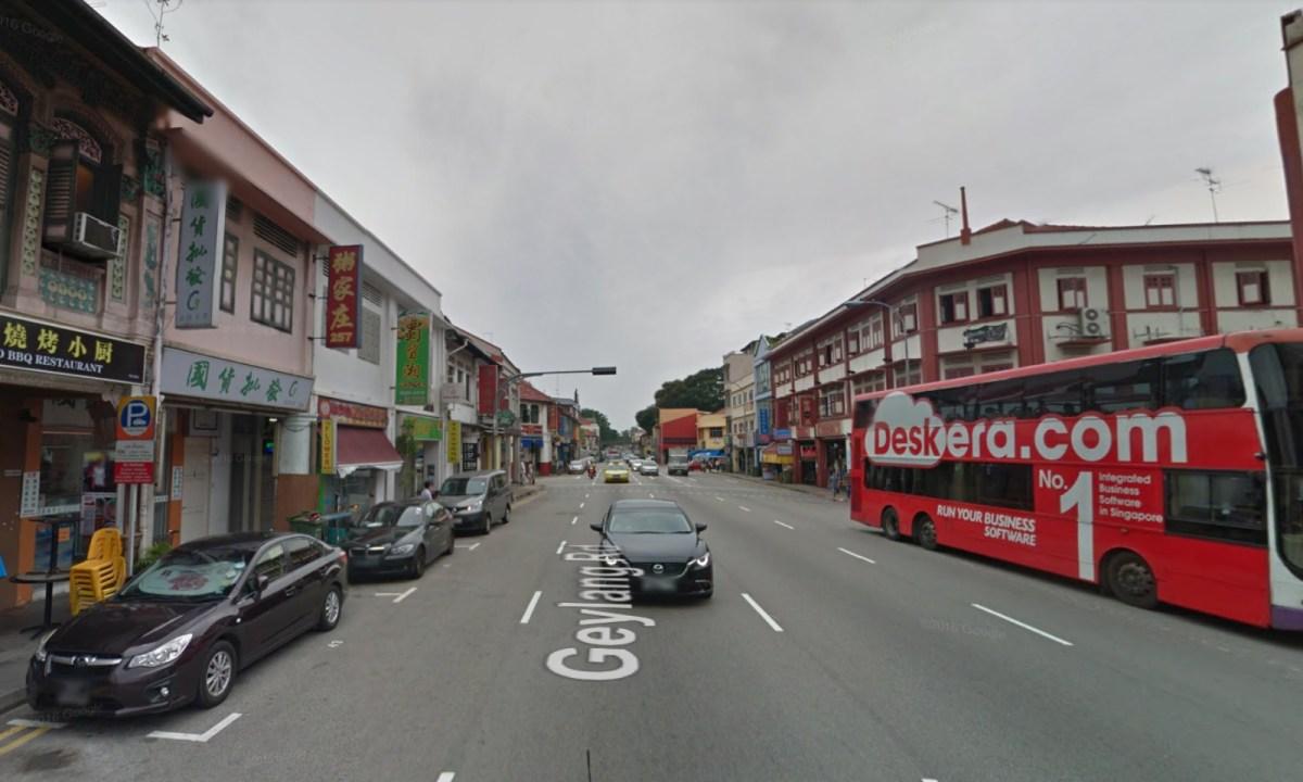 Geylang, Singapore. Photo: Google Maps