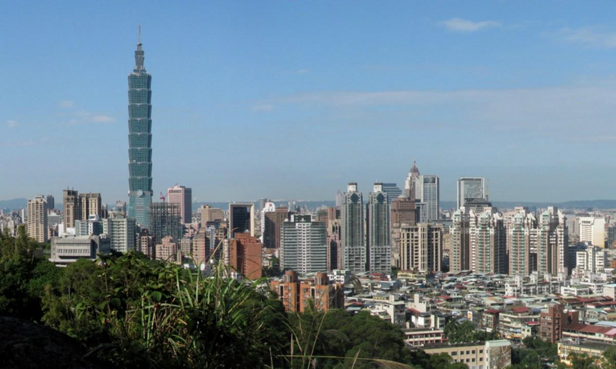 Taipei City, Taiwan. Photo: Wikimedia Commons