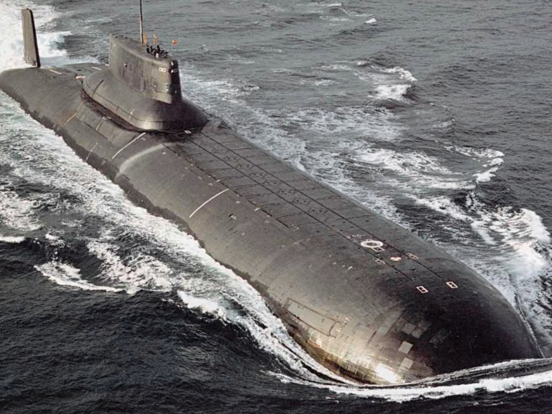 Typhoon class submarine. Photo: public domain/Bellona Foundation