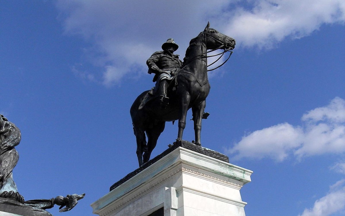 Ulysses S Grant Memorial, Washington, DC. Photo: Wikipedia