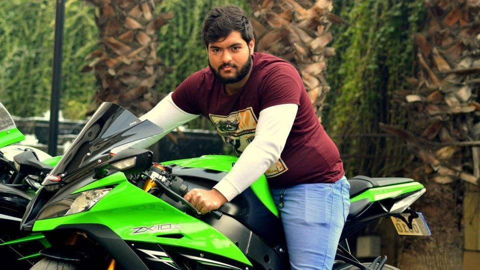 Himanshu Bansal, 24, died after a crash in New Delhi on Monday night. Photo: Hindustan Times