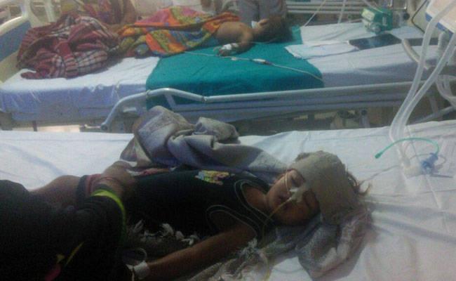 Dozens of children have died recently at Gorakhpur's BRD Medical College. Photo: NDTV