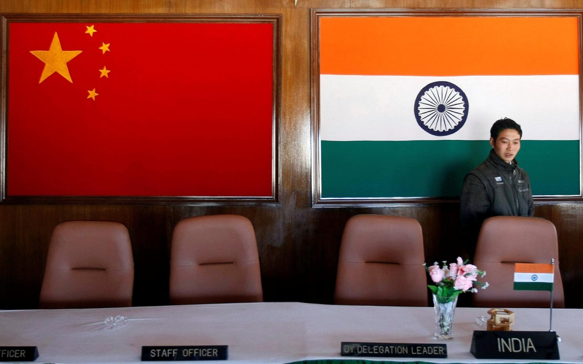 A good time to talk. The conference room used for meetings between military commanders of China and India, at the Indian side of the Indo-China border at Bumla, in the northeastern Indian state of Arunachal Pradesh, November 11, 2009.  Reuters/Adnan Abidi