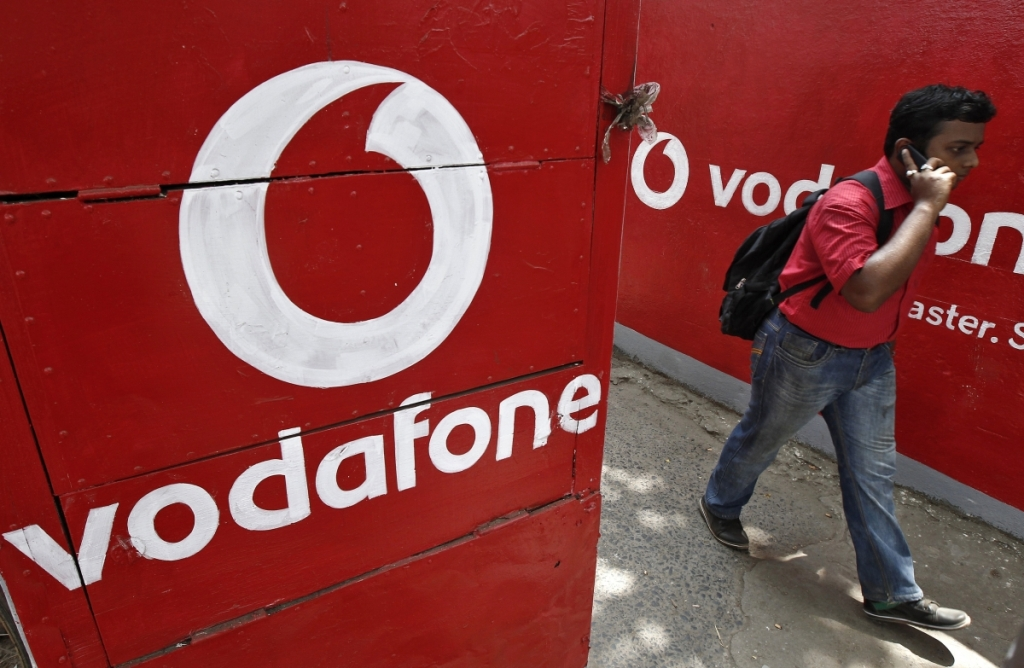 Vodafone is a major telecom provider in India. Photo: Reuters