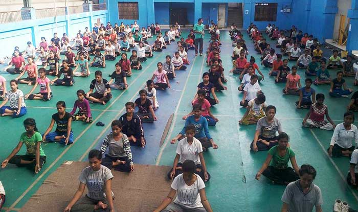 Children in India will not be forced to do yoga at school, the Supreme Court has ruled. Photo: india.com